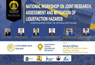 NATIONAL WORKSHOP ON JOINT RESEARCH,  ASSESSMENT AND MITIGATION OF LIQUEFACTION HAZARDS (LESSON LEARN FROM THE 2018 PALU EARTHQUAKE)